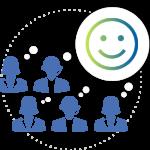 branchen-contactcenter-zufriedene-mitarbeiter